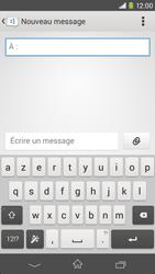 Sony Xpéria M2 - Contact, Appels, SMS/MMS - Envoyer un SMS - Étape 5