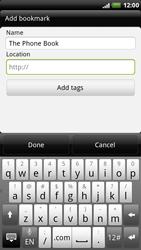 HTC X515m EVO 3D - Internet - Internet browsing - Step 8