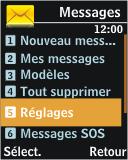 Samsung J700 - SMS - Configuration manuelle - Étape 4
