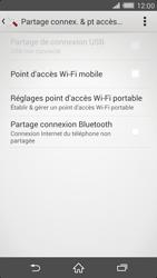 Sony Xperia Z2 - Internet et connexion - Partager votre connexion en Wi-Fi - Étape 6