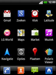 LG C660 Optimus Pro - Voicemail - handmatig instellen - Stap 3