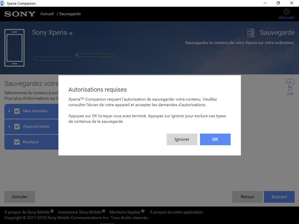 Sony Xperia XA2 - Aller plus loin - Gérer vos données avec un ordinateur - Étape 7