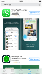 Apple iPhone 6 iOS 9 - WhatsApp - Download WhatsApp - Stap 7