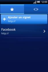 Sony Ericsson Xperia X8 - Internet - Navigation sur internet - Étape 5
