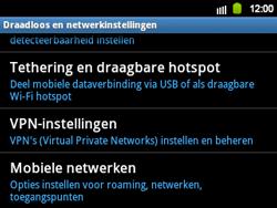 Samsung B5510 Galaxy TXT - Netwerk - gebruik in het buitenland - Stap 7