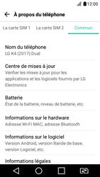 LG K4 2017 - Réseau - Installation de mises à jour - Étape 7
