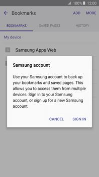 Samsung N920 Galaxy Note 5 - Internet - Internet browsing - Step 8