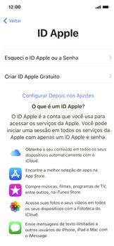 Apple iPhone X - iOS 12 - Primeiros passos - Como ativar seu aparelho - Etapa 16