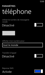 Nokia Lumia 620 - Messagerie vocale - Configuration manuelle - Étape 8