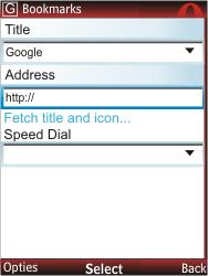 Nokia X2-00 - Internet - Internet browsing - Step 8