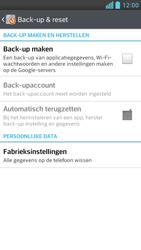 LG D505 Optimus F6 - Instellingen aanpassen - Fabrieksinstellingen terugzetten - Stap 5