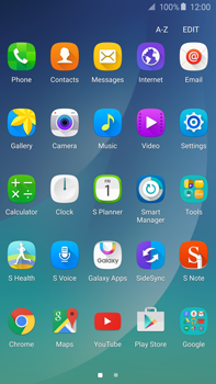 Samsung N920 Galaxy Note 5 - Applications - Create an account - Step 3