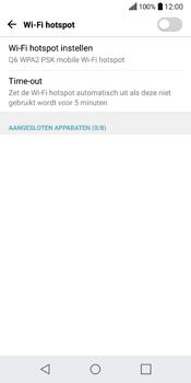 LG Q6 (LG M700n) - WiFi - Mobiele hotspot instellen - Stap 5