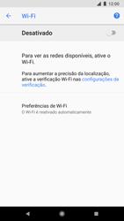 Google Pixel 2 - Wi-Fi - Como configurar uma rede wi fi - Etapa 6