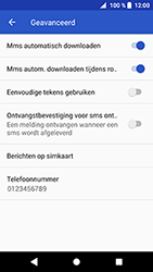 Sony Xperia XZ Premium - MMS - probleem met ontvangen - Stap 7