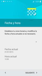 Samsung Galaxy S6 - Primeros pasos - Activar el equipo - Paso 8