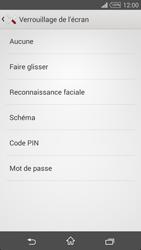 Sony Xpéria T3 - Sécuriser votre mobile - Activer le code de verrouillage - Étape 6