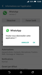 HTC One A9 - Applications - Supprimer une application - Étape 7