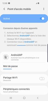 Samsung Galaxy S10e - Internet - comment configurer un point d'accès mobile - Étape 13