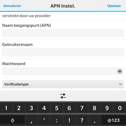 BlackBerry Passport - Internet - Handmatig instellen - Stap 9