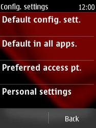 Nokia Asha 300 - Internet - Manual configuration - Step 5