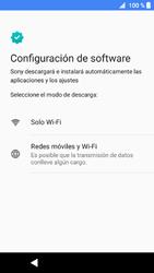 Sony Xperia XZ1 - Primeros pasos - Activar el equipo - Paso 18