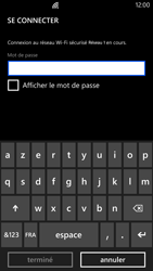 Nokia Lumia 1320 - Wifi - configuration manuelle - Étape 6