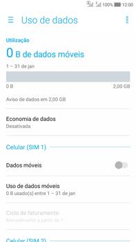 Asus Zenfone Selfie - Rede móvel - Como ativar e desativar uma rede de dados - Etapa 6