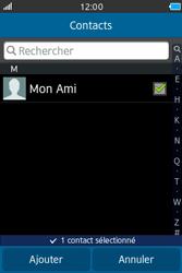 Samsung Wave M - Contact, Appels, SMS/MMS - Envoyer un SMS - Étape 7