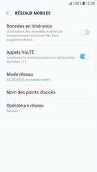 Samsung G925F Galaxy S6 Edge - Android Nougat - Réseau - Changer mode réseau - Étape 6