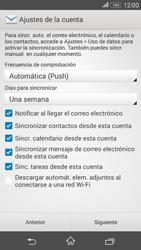 Sony Xperia E4g - E-mail - Configurar Outlook.com - Paso 7