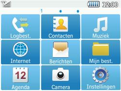 Samsung C3500 Chat 350 - Voicemail - handmatig instellen - Stap 4