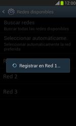Samsung Galaxy S3 Mini - Red - Seleccionar una red - Paso 9