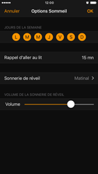 Apple iPhone 6 iOS 10 - iOS features - Coucher - Étape 13