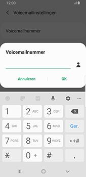 Samsung galaxy-s8-sm-g950f-android-pie - Voicemail - Handmatig instellen - Stap 11