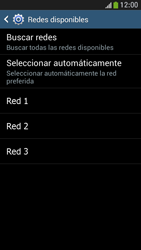 Samsung Galaxy S4 Mini - Red - Seleccionar una red - Paso 8