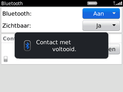BlackBerry 9780 Bold - Bluetooth - headset, carkit verbinding - Stap 10