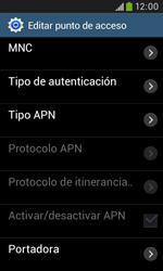Samsung S7580 Galaxy Trend Plus - Mensajería - Configurar el equipo para mensajes multimedia - Paso 13