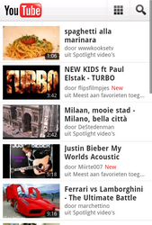 Nokia Lumia 800 - Internet - Popular sites - Step 4