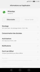 Huawei P9 - Applications - Supprimer une application - Étape 6