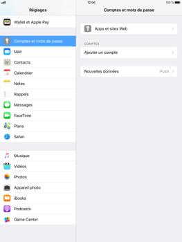 Apple iPad mini 3 - iOS 11 - E-mail - Configuration manuelle - Étape 4
