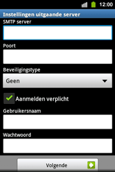 Samsung S5830i Galaxy Ace i - E-mail - handmatig instellen - Stap 12
