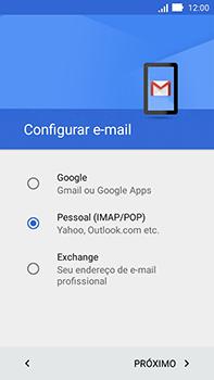 Asus Zenfone Go - Email - Como configurar seu celular para receber e enviar e-mails - Etapa 9
