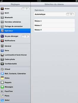 Apple iPad mini - Réseau - Utilisation à l