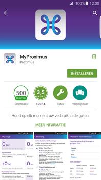 Samsung Galaxy S6 edge+ - Applicaties - MyProximus - Stap 8