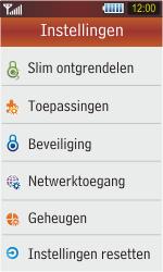 Samsung S5230 Star - Buitenland - Bellen, sms en internet - Stap 4
