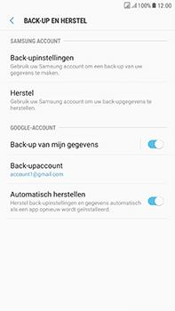 Samsung Galaxy J7 (2017) - Device maintenance - Back up - Stap 14