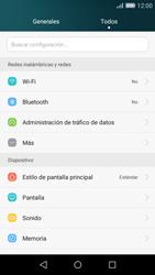 Huawei P8 Lite - Internet - Activar o desactivar la conexión de datos - Paso 3
