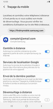 Samsung Galaxy S9 Plus - Android Pie - Appareil - configurer Localiser mon appareil - Étape 9