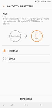 Samsung galaxy-j4-plus-dual-sim-sm-j415fn - Contacten en data - Contacten kopiëren van SIM naar toestel - Stap 13